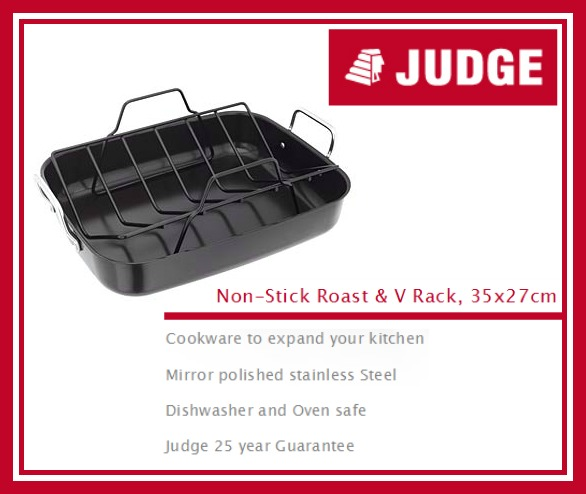 Judge Non-Stick Roast & V Rack review