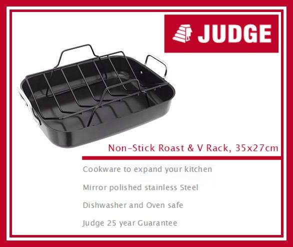Judge Non-Stick Roast & V Rack review