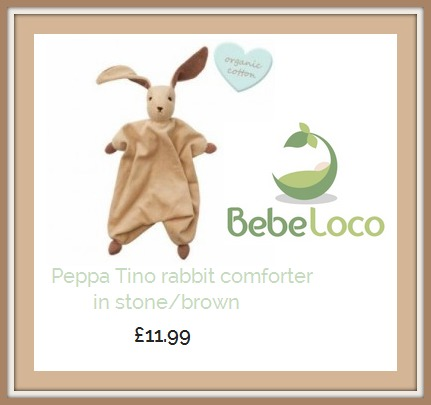 Review Of Peppa Tino 100% Organic Cotton Rabbit Comforter For Babies From Bebe Loco