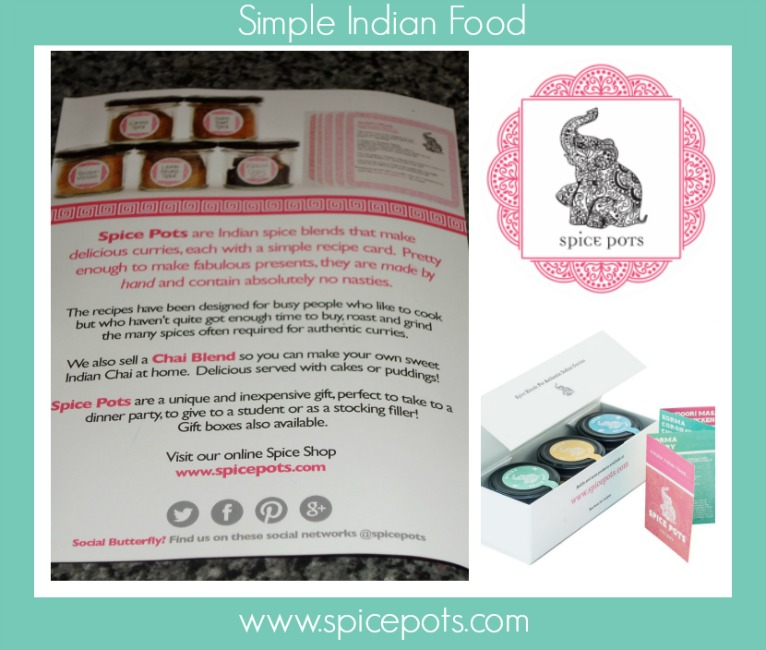 Spice Pots Indian spice mix review