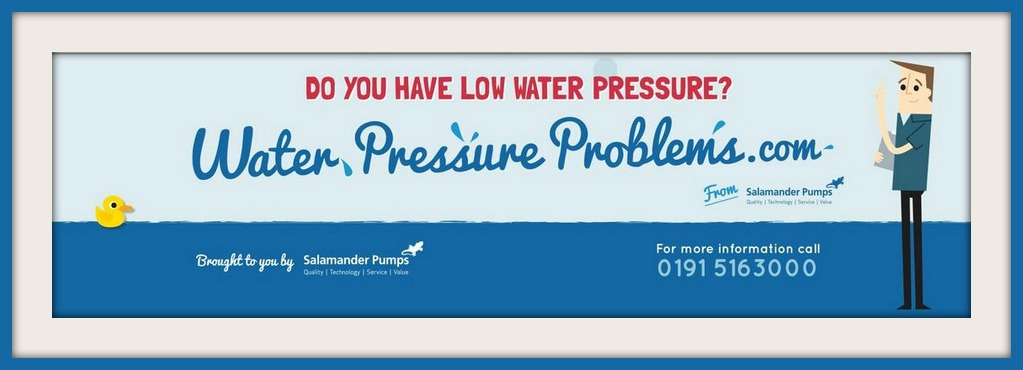 water pressure problems