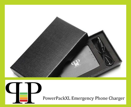 review of powerpackXL emergency phone charger