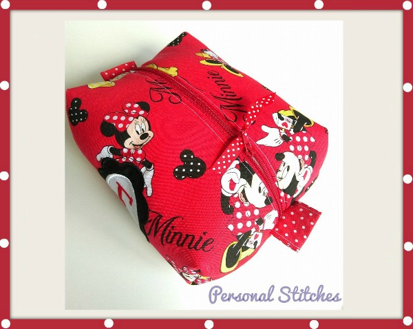 Personal Stitches customised box bag