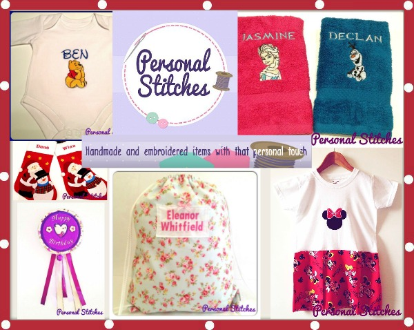 Personal Stitches customised items