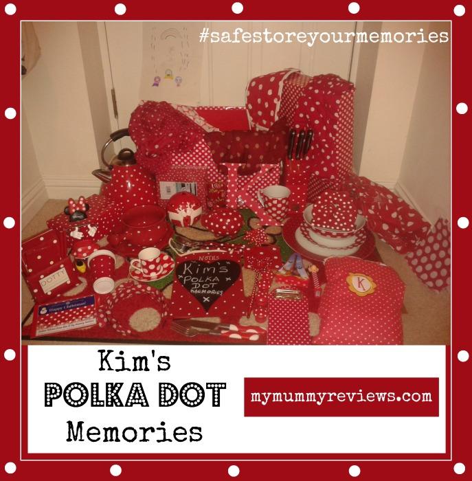 Polka dot #safestoreyourmemories