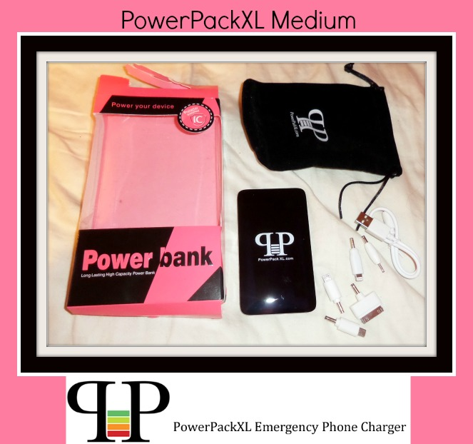 review of powerpackXL Medium emergency phone charger