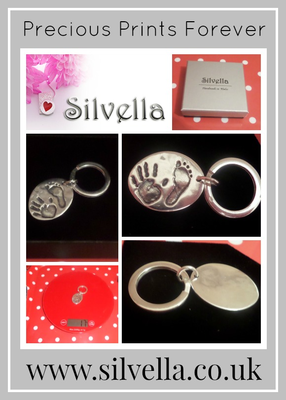 Review Of precious prints forever keepsake jewellery by Silvella jewellery