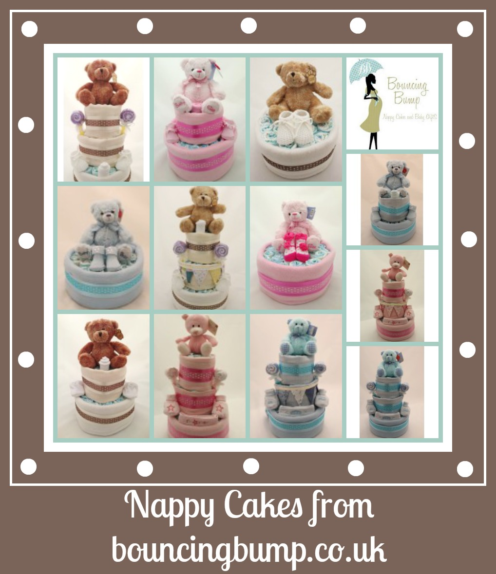 bouncing bump nappy cake review