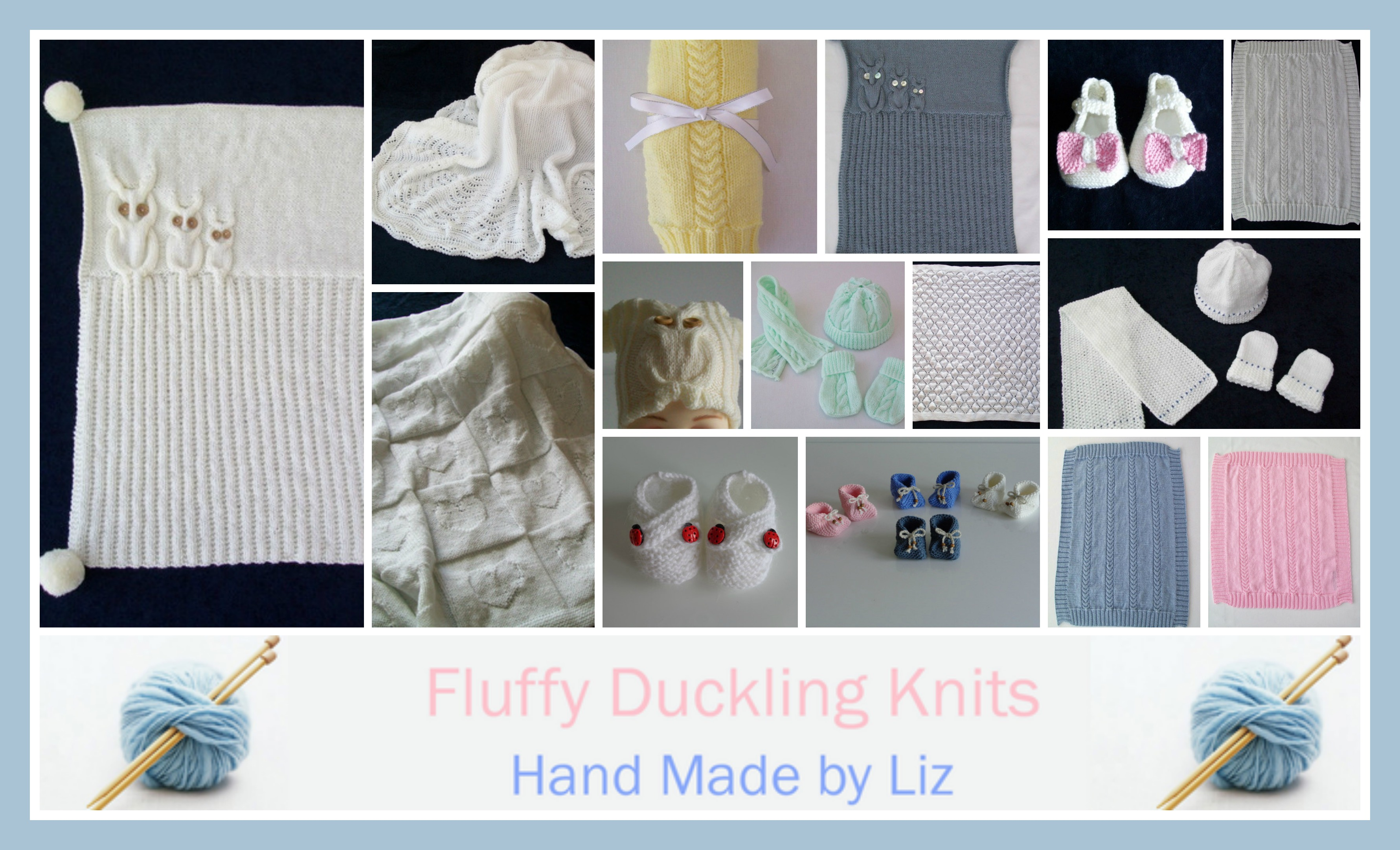fluffy duckling knits hand knitted baby clothing