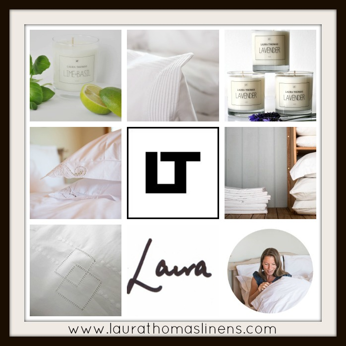 Laura Thomas Linens Soy Candle review