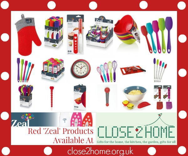 red zeal products from close2home