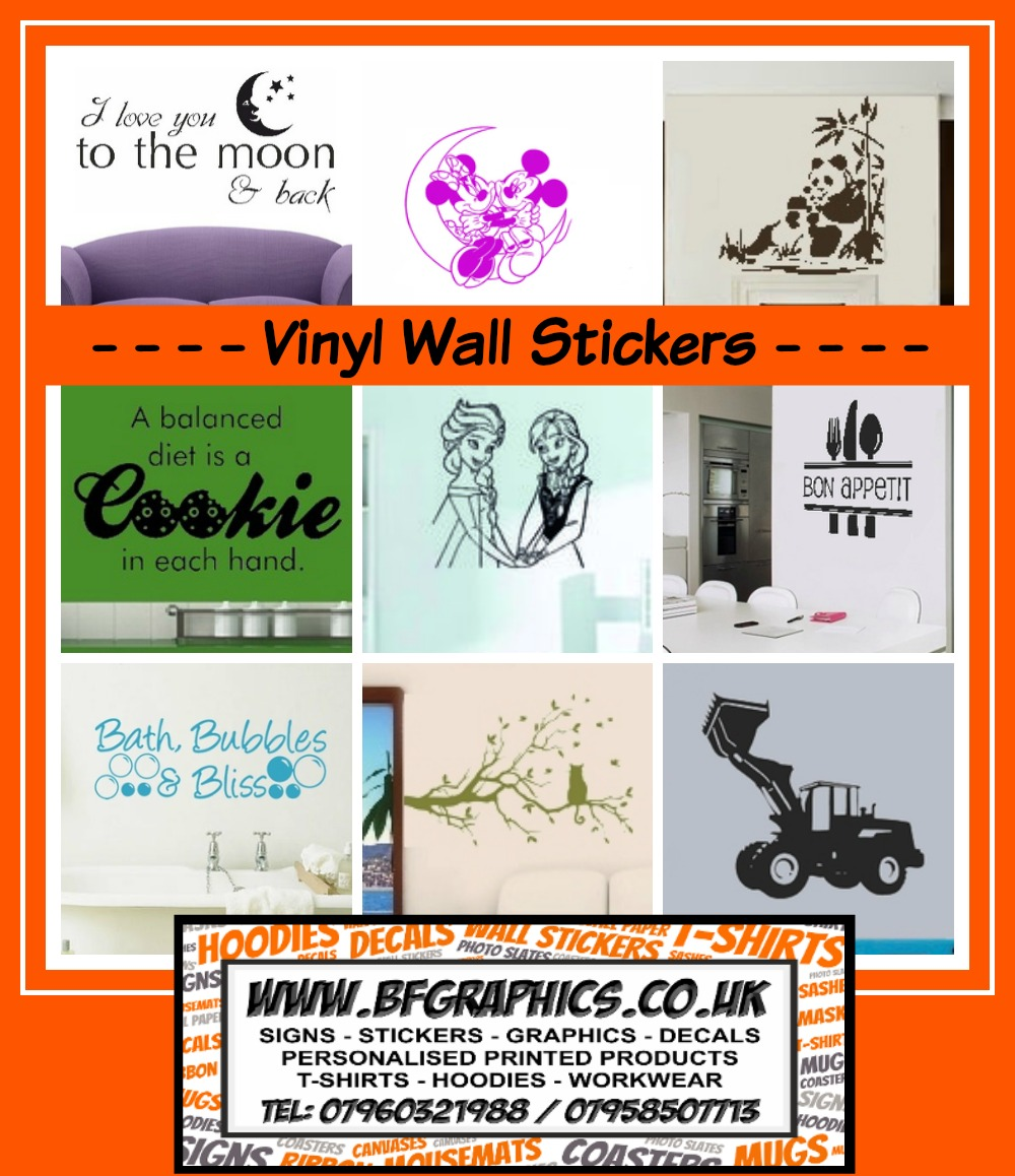 BF Graphics vinyl wall stickers review