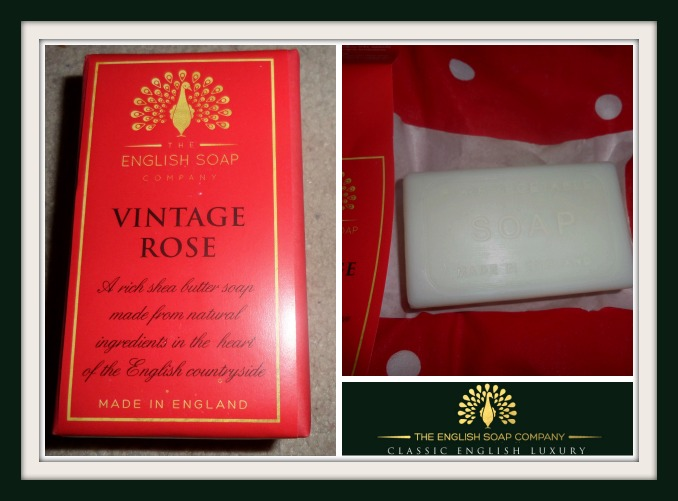 Luxury soap from English Soap Company
