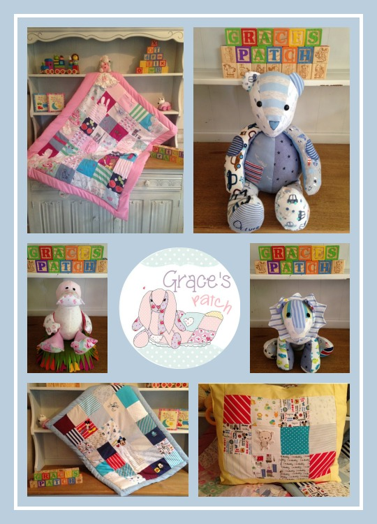 Grace's Patch keepsake memory bear