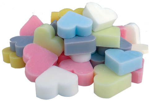 heart soap wedding favours