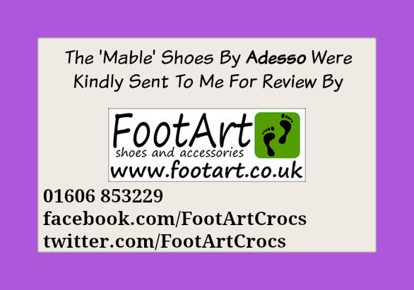 review of adesso mable shoes from footart.co.uk
