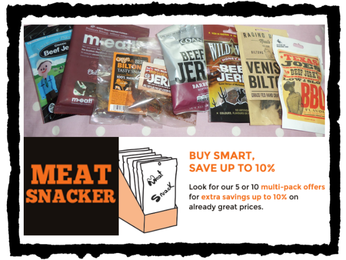 review of beef jerky and beef biltong from meatsnacker.co.uk