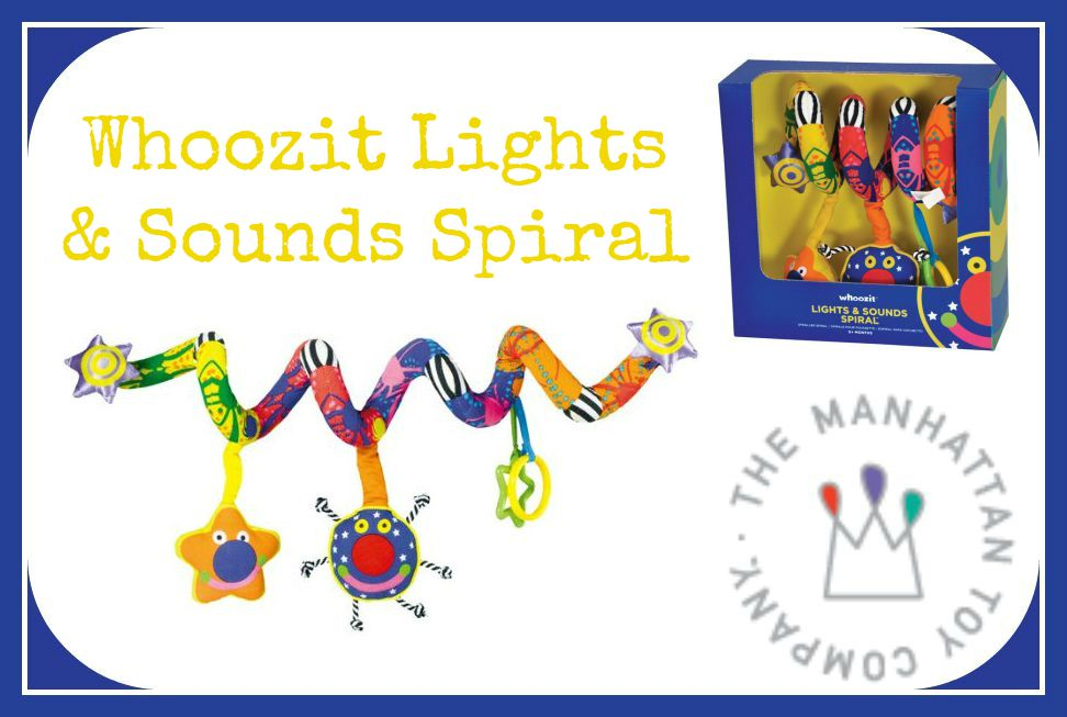 Whoozit Lights & Sounds Activity Spiral review