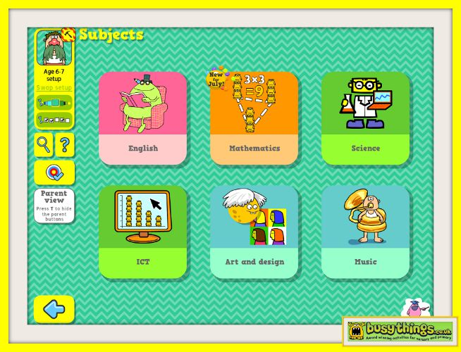 busy things online learning website for kids review