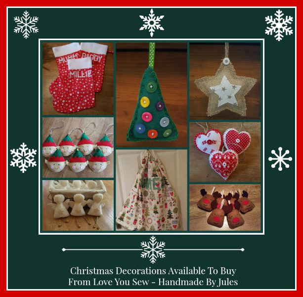 christmas decorations love you sew handmade by jules review