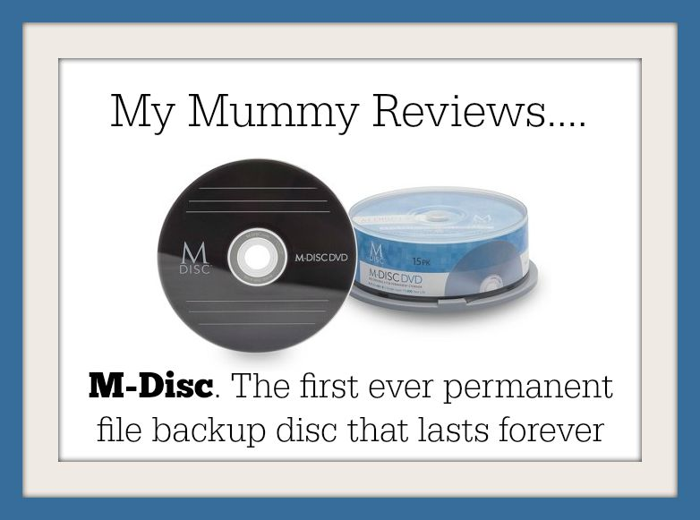 review of m-disc digital permanent storage