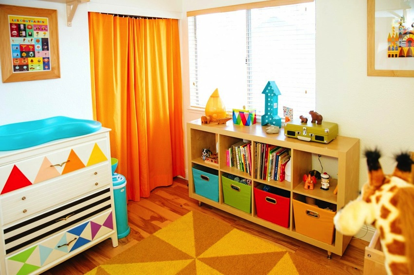 Fun and Colorful Ideas for the Nursery
