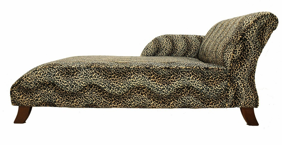 Order now to get your new sofa in time for christmas from for Animal print chaise lounge