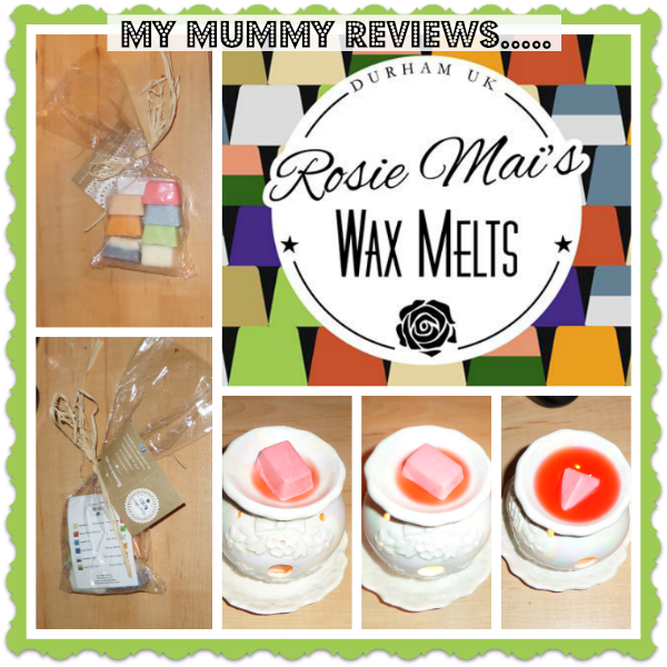 review of Rosie Mai's Wax Melts
