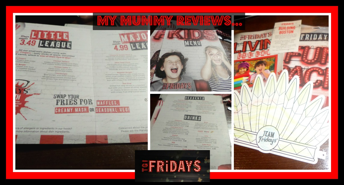 tgi fridays review Norwich