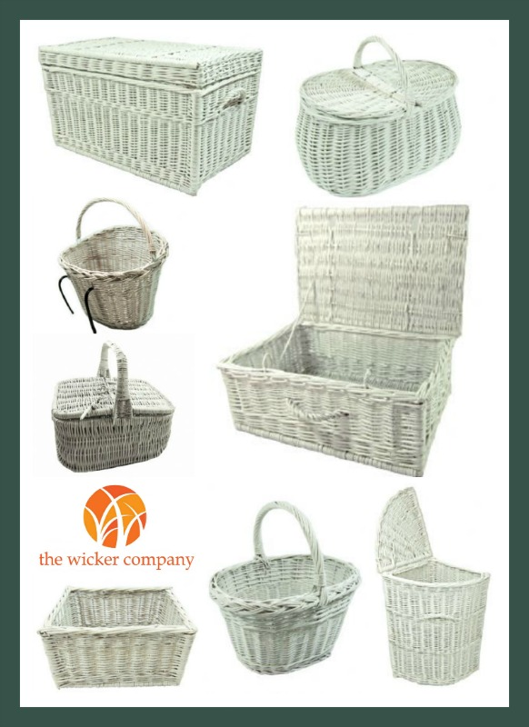white wicker