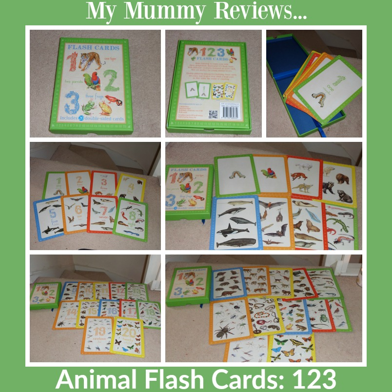 animal flash cards 123 review