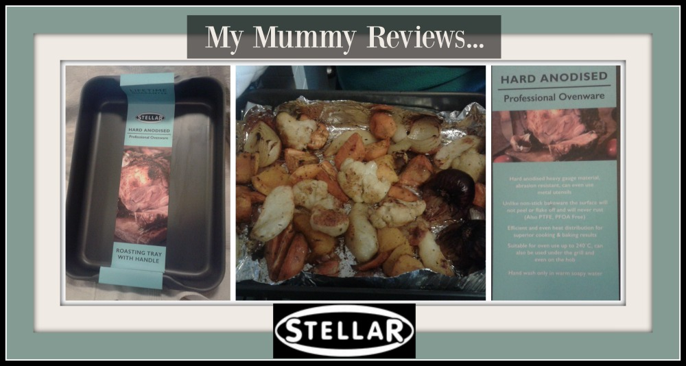review of stellar hard anodised roast tin