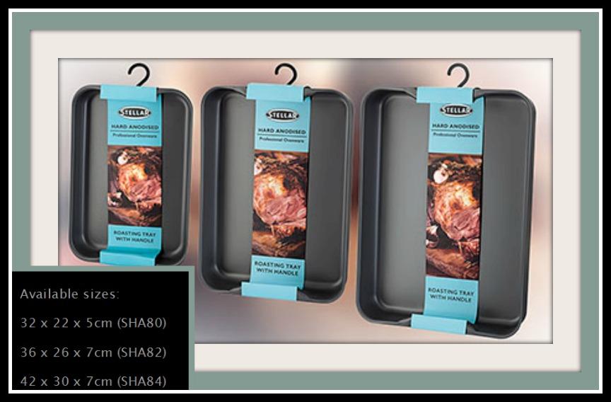 review of stellar hard anodised roast tin