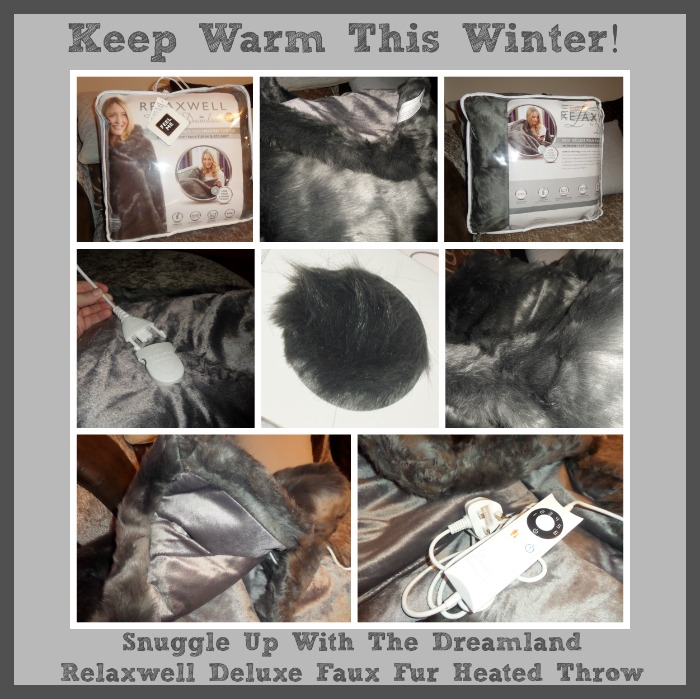 Dreamland Heated Throw