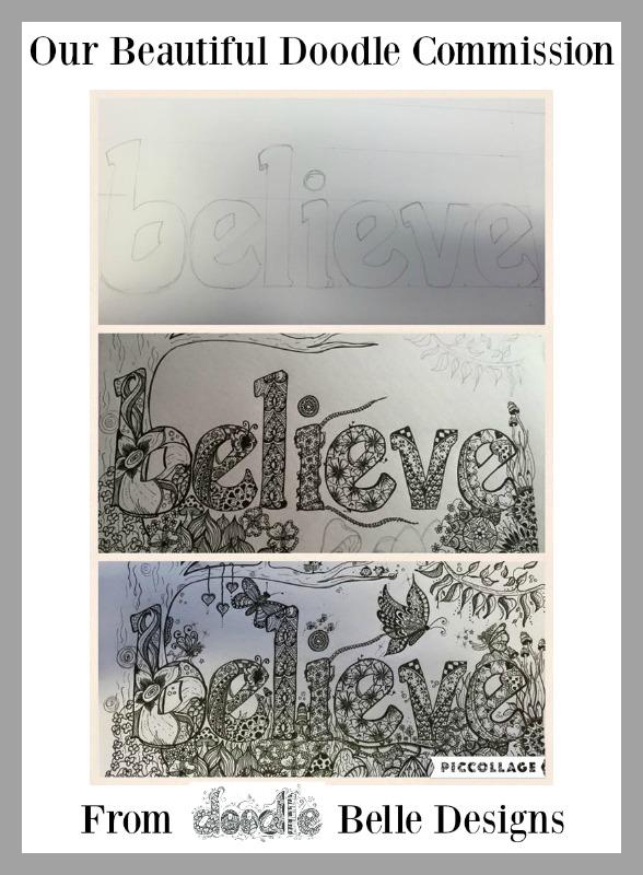 doodle belle designs believe