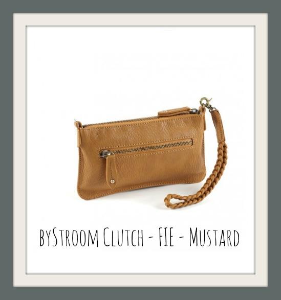 byStroom Clutch - FIE - Mustard