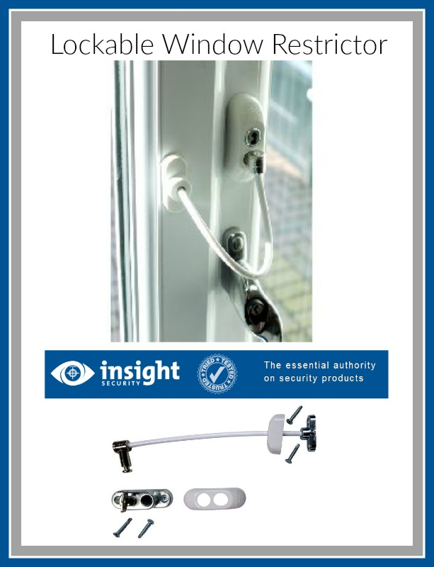 lockable window restrictors