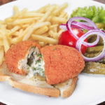 air-fryer-chicken-kiev-supper