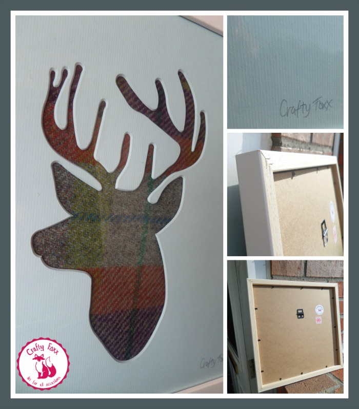 cutout stag art crafty foxx art