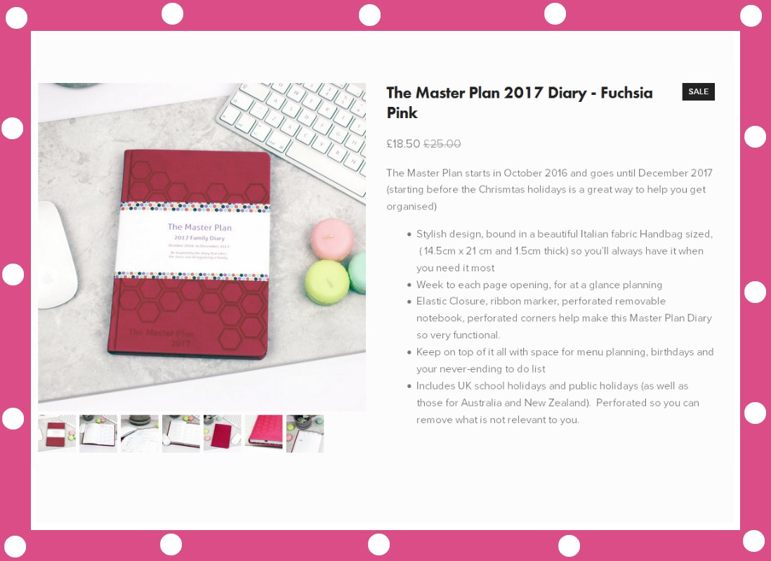 stylish school diary