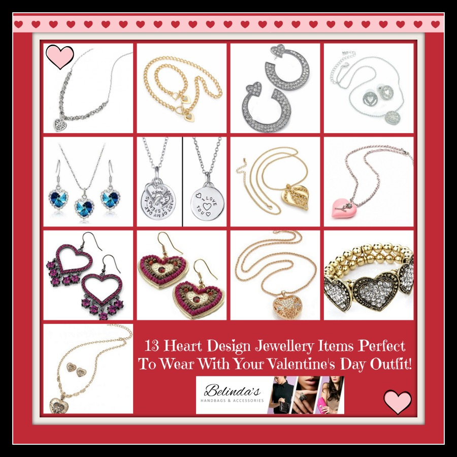 heart design jewellery