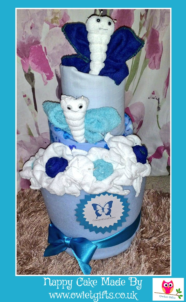 owlet gifts nappy cake