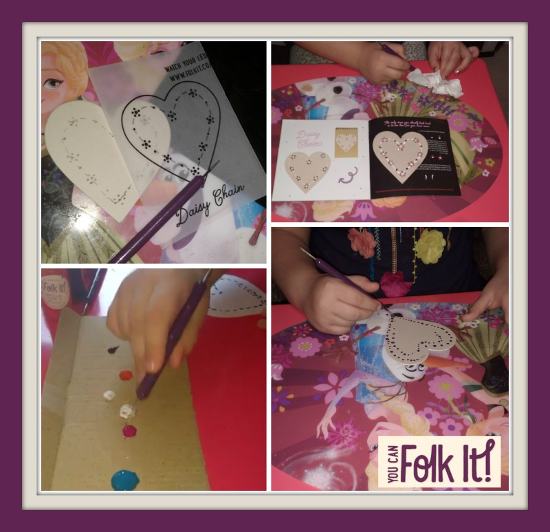 Go Dotty kits You Can Folk It painting kits