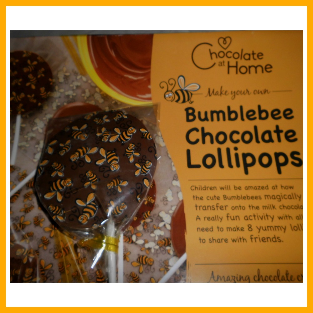 bumblebee lollipop