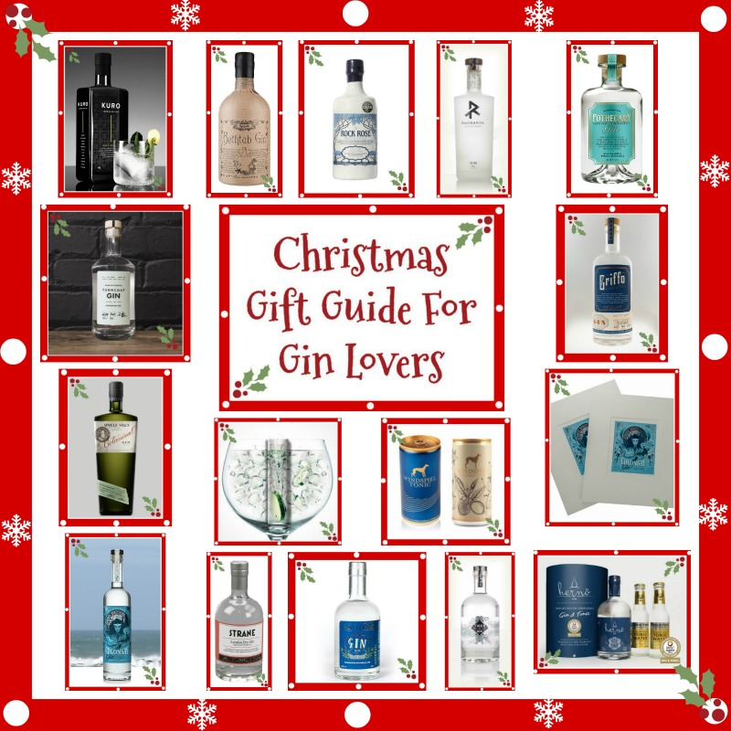 christmas gift guide for gin lovers