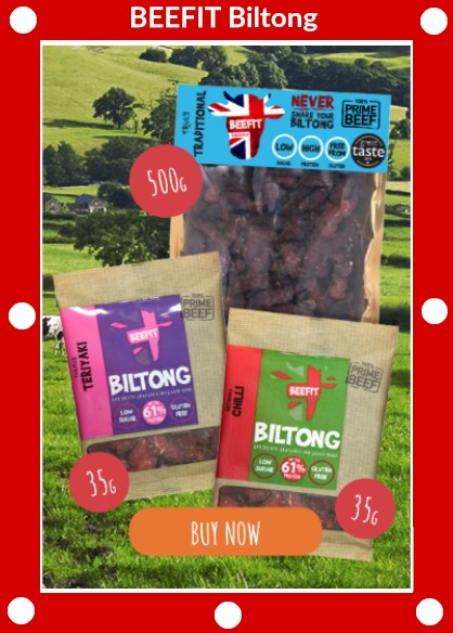 BEEFIT Biltong packs