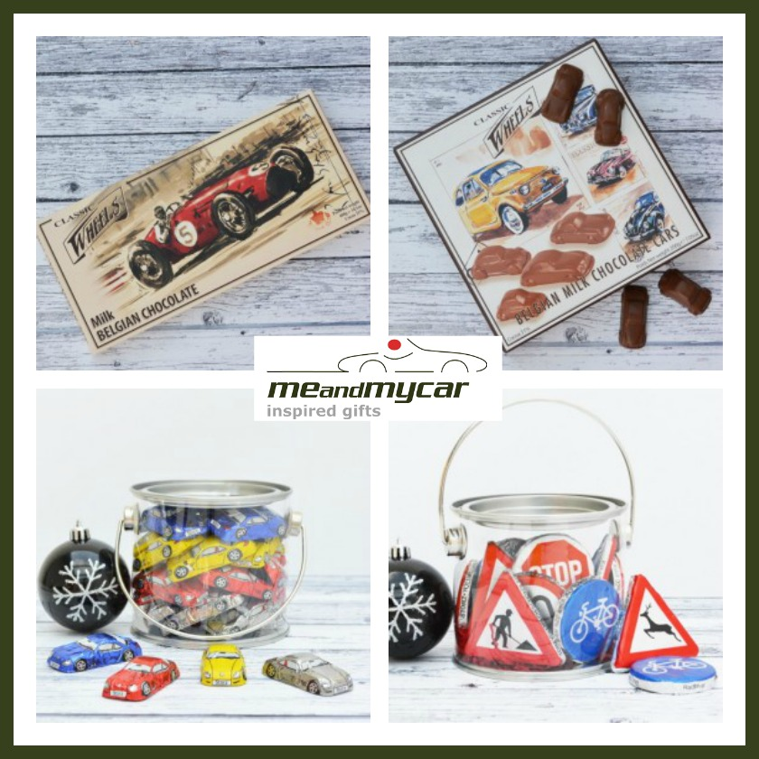 motor themed chocolate