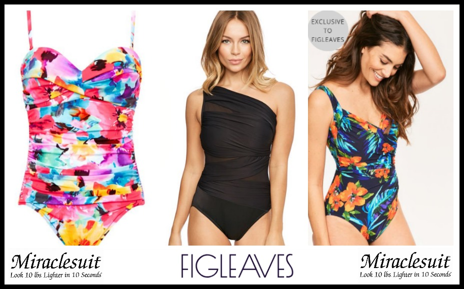 figleaves miraclesuit swimming costumes