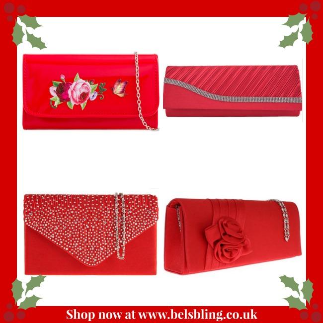 red handbags for Christmas