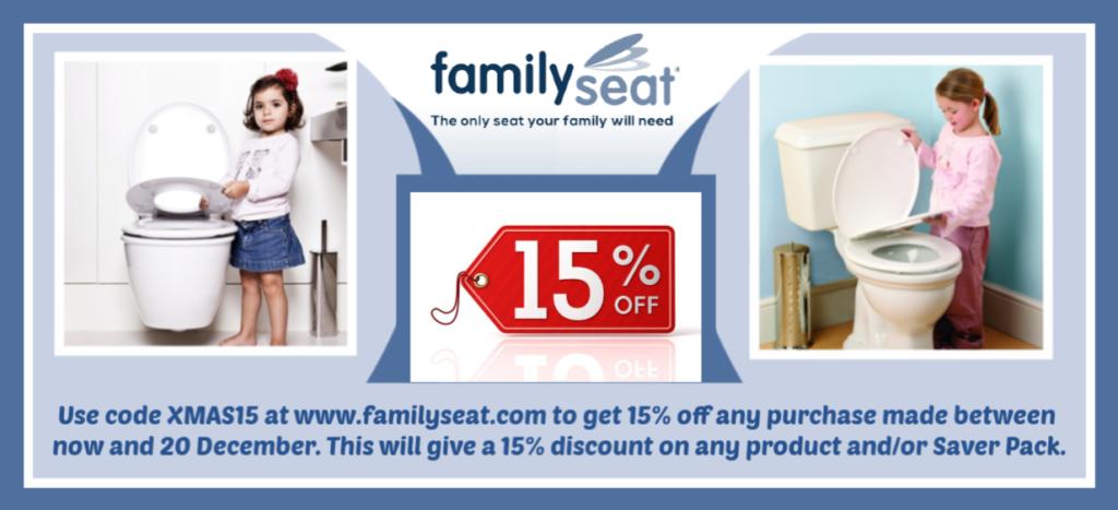 Family Seat Potty Training Toilet Seat
